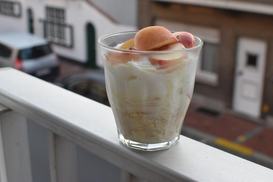 Happy Havermout – Peaches 'n CreamParfait
