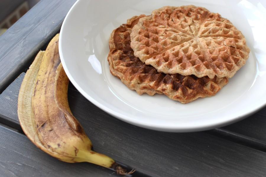 Protein Banana BreadWaffles