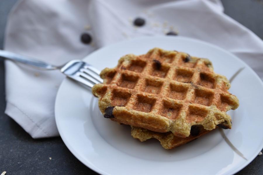 HAPPY HAVERMOUT: Chocolate Chip HavermoutWafels