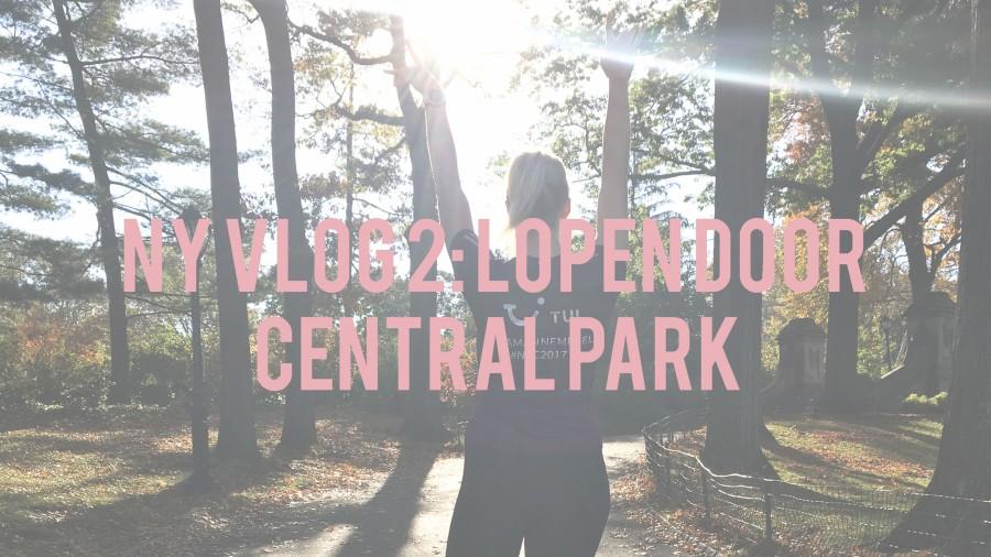 NY VLOG 2: Lopen door CentralPark