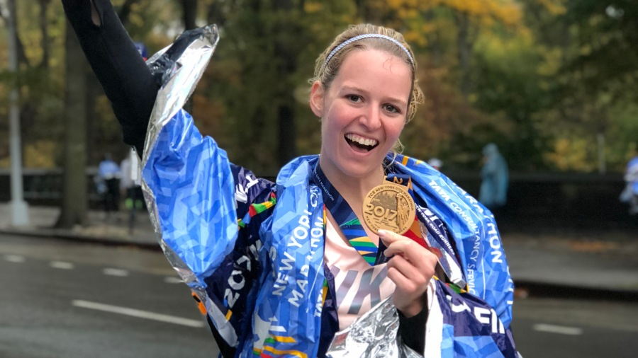 NY Marathon verslag
