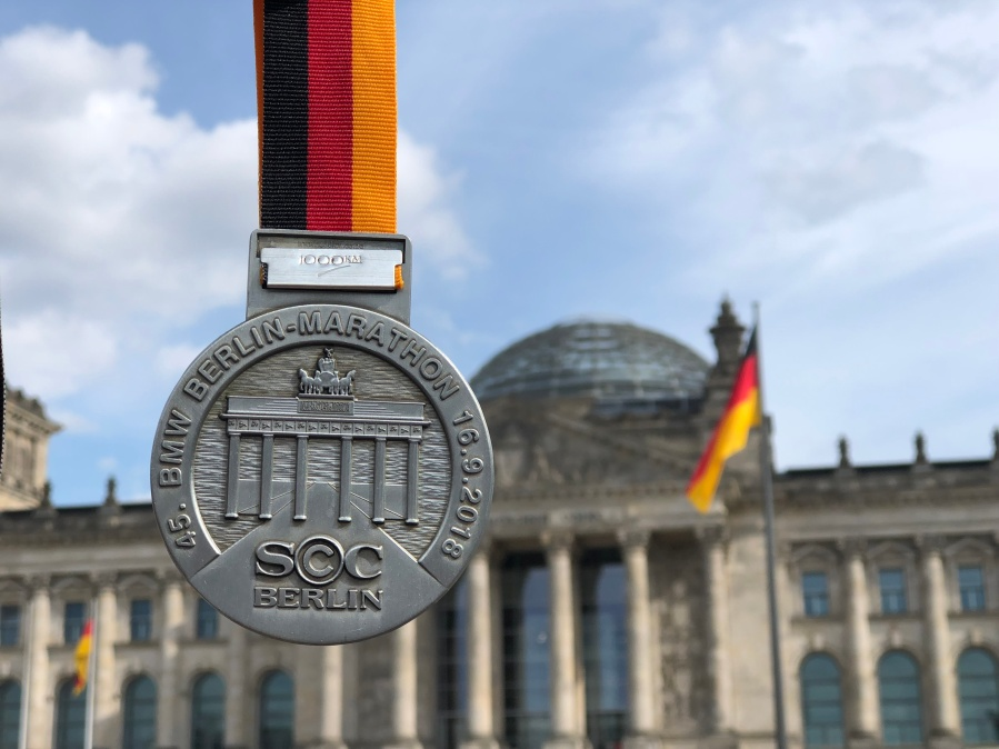 Berlin Marathon, I did it