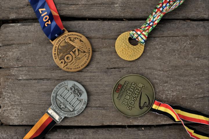 Vier marathons op één jaartijd